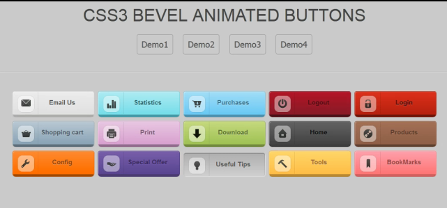 css icon button 50 interactive css3 button scripts and generators