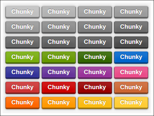 Chunky 3D CSS3 Buttons
