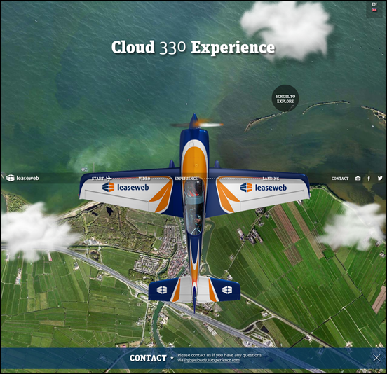 Cloud 330 Experience