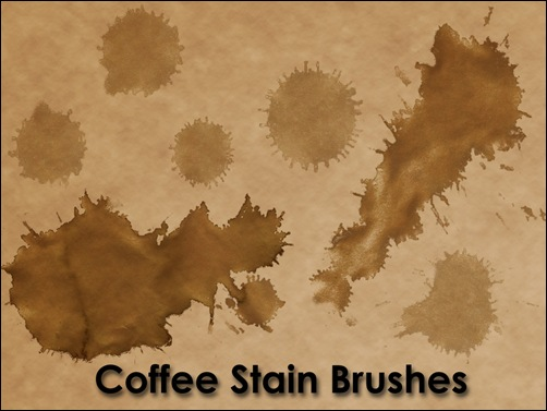 Coffee_Stain_Brushes_by_KnightRanger