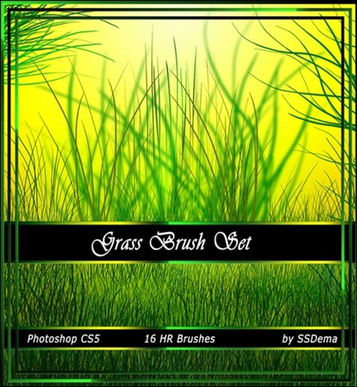 60+ Photoshop Grass Brushes - Seed Your Designs With Some Grass