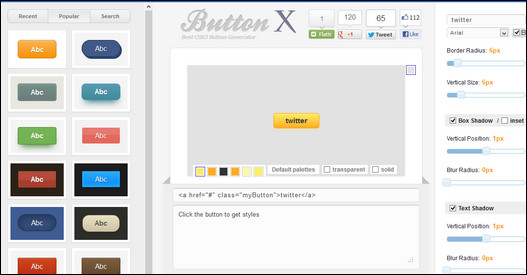 50+ Interactive CSS3 Button Scripts and Generators - Improve Your
