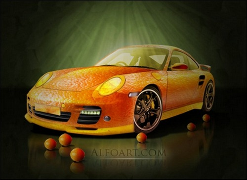 fruitskin-porsche-icon