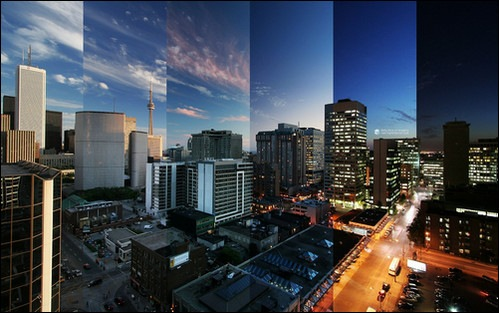 toronto-reflections-canada-wide-hd-wallpaper