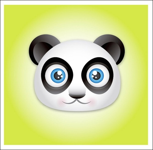 create-acute-panda-face-icon