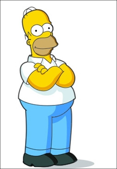 drawing-homer-simpson