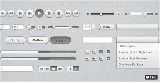 itunes-inspired-ui-kit