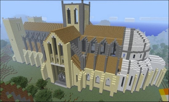 minecraft-cathedral