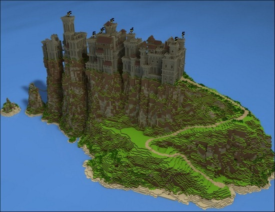 minecraft-pyke-castle