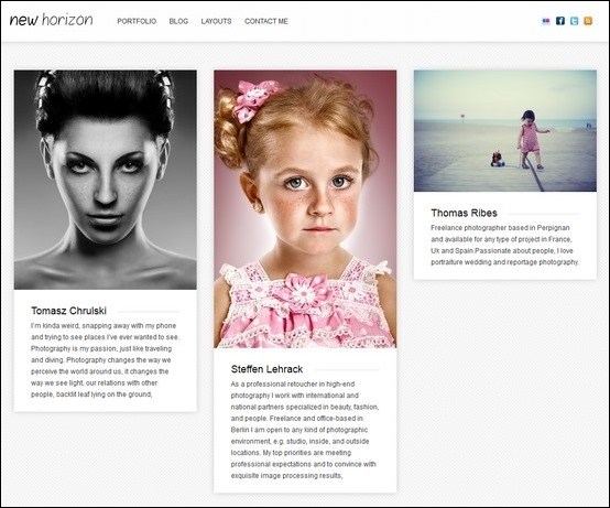 new-horizon-blog-portfolio