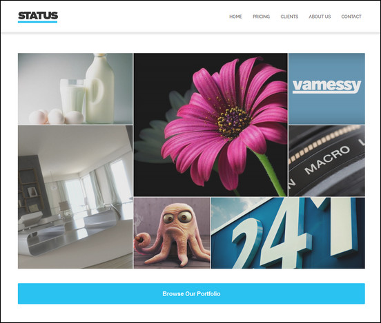 status-parallax-and-modular-theme