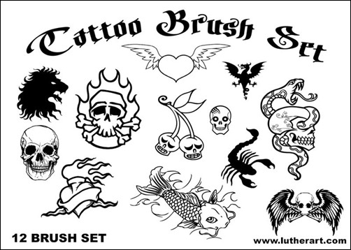 tattoo-brush-set