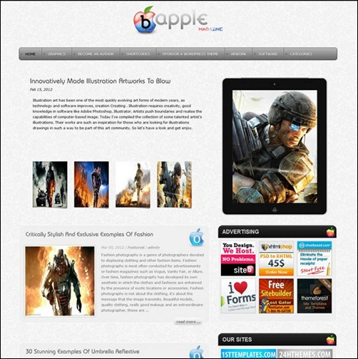 Boo-Apple-WordPress-Theme