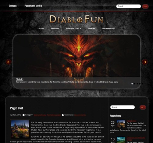 DiabloFun-WordPress-Theme
