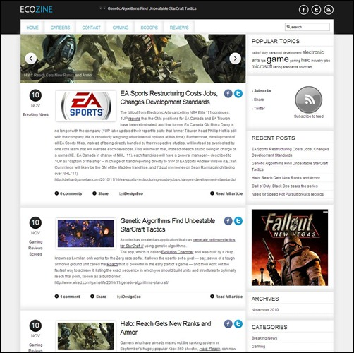 Ecozine-Gaming-WP-Theme