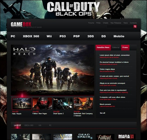 GameBox-WordPress-Theme