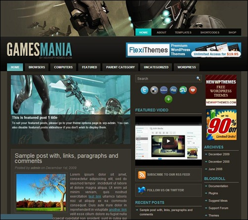 30+ Exciting WordPress Gaming Themes - Want Unfair Advantages ...