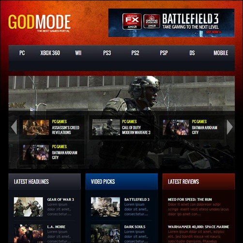 God-Mode-WordPress-Theme