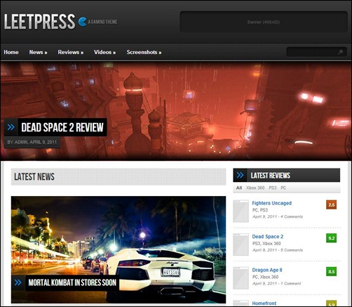 LeetPress-Game-Theme