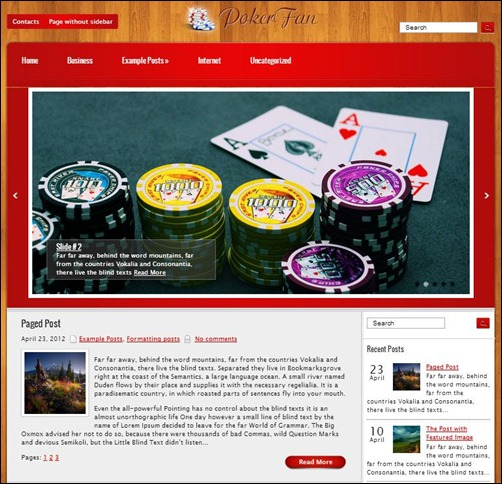 PokerFan-WordPress-Theme