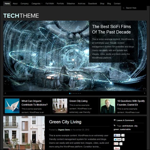 Tech-Theme-WP