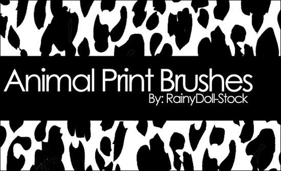 animal-print-brushes