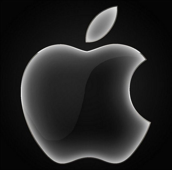 apple-black-glass