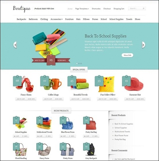boutique-wordpress-theme
