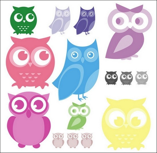 cartoon-owl-brushes