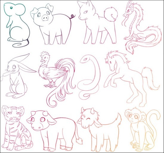 chinese-zodiac-animal-brushes[3]