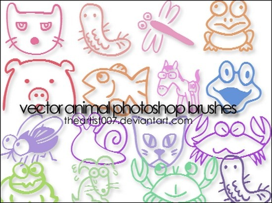 cute-animal-brushes