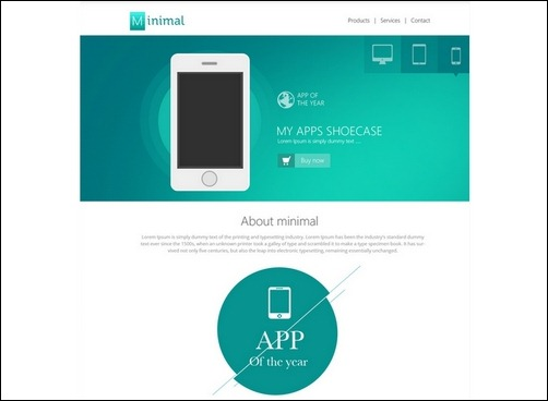 flat-style-website-template-psd
