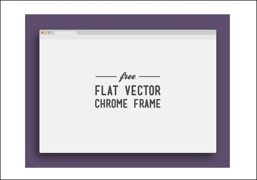 flat-vector-chrome-frame[3]