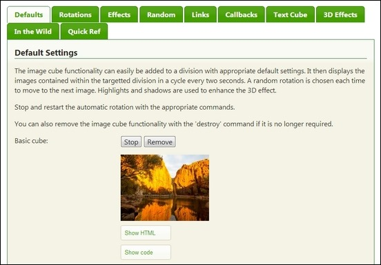 jquery-cube-image