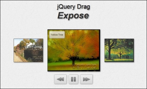 jquery-drag-expose-draggable-image-gallery