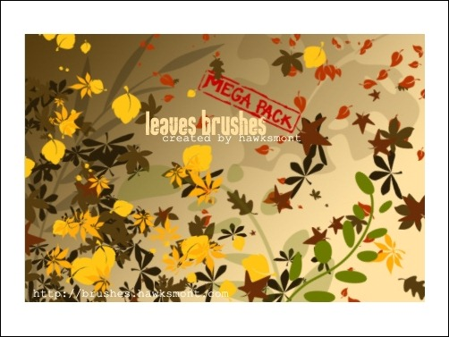 leaves-brush-mega-pack