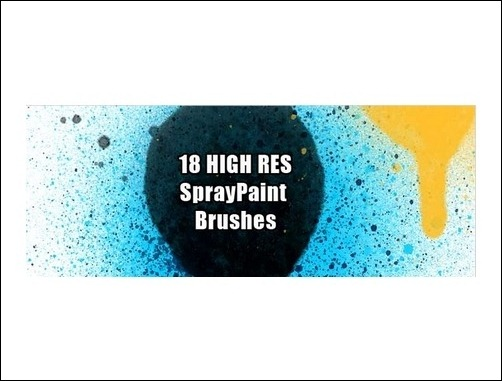 spray-paint-photoshop-brushes