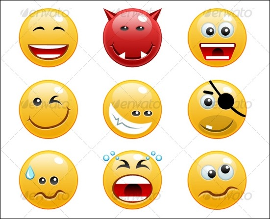16-non-rasterized-emoticons-pack