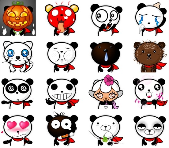 cutest-panda-emoticons