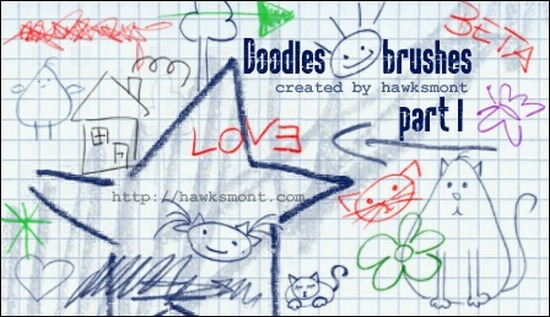 doodles-ps-brushes