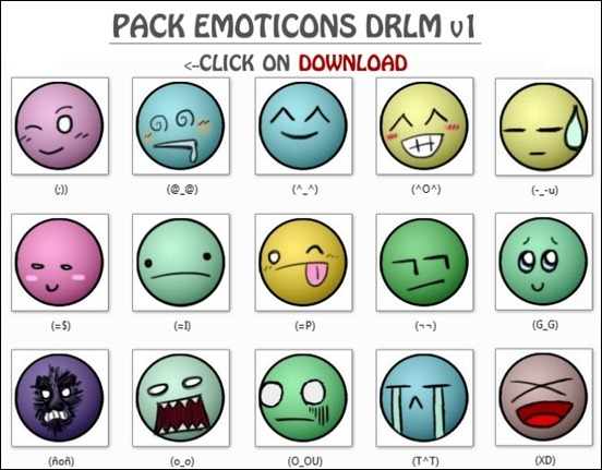 drlm-emoticons-pack-v1