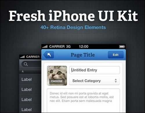 fresh-iphone-ui-kit