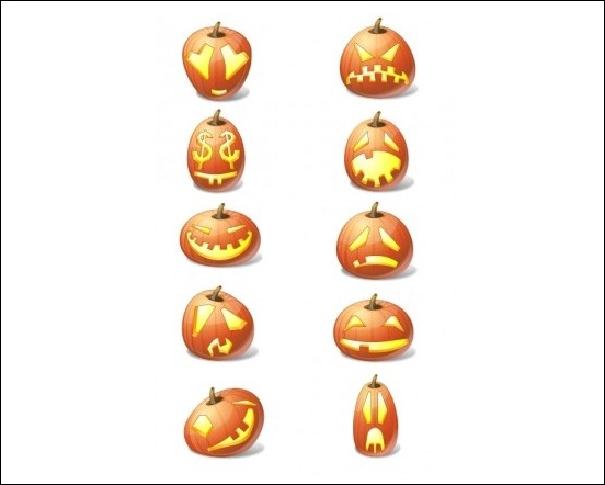 halloween-pumpkin-emoticons-pack