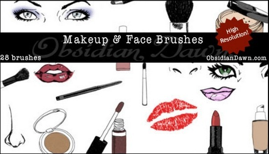 make-up-face-skectches-brushes