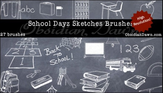 school-dayz-brushes