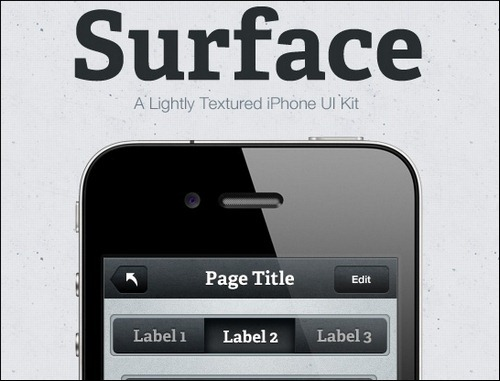 surface-iphone-ui-kit