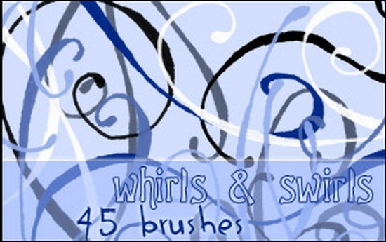whirls-brushes