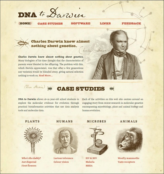 DNA-to-Darwin