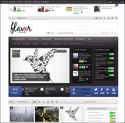 Flavor-wordpress-review-theme