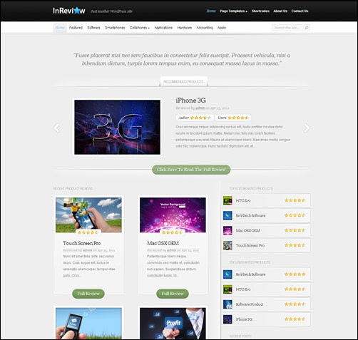 InReview-wordpress-review-theme